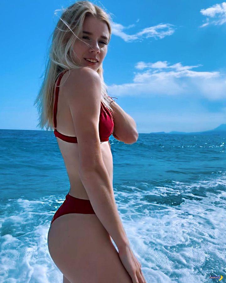 Секси украинская бегунья Мария Буряк