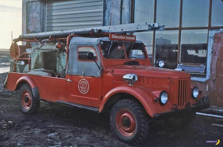 ГАЗ-69 в Исландии