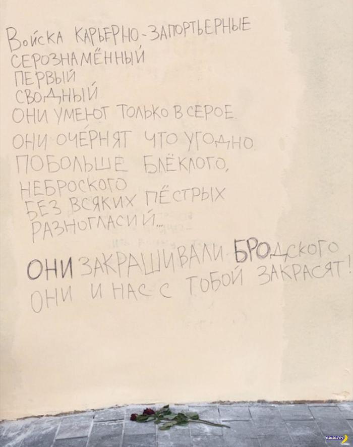 В Петербурге на заборе началась война - ОБНОВЛЕНО!