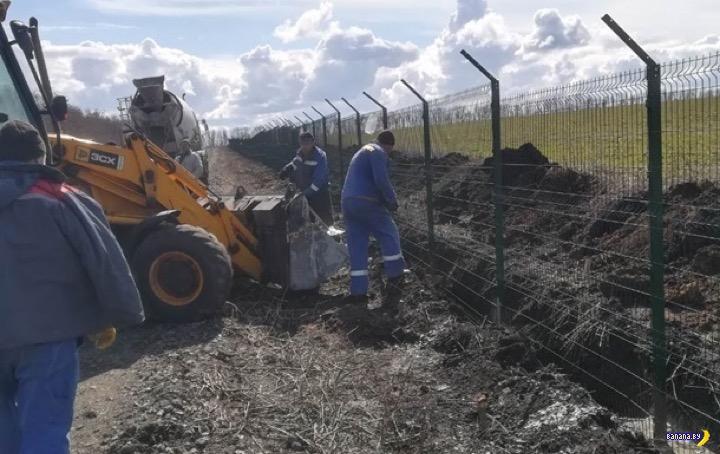 Украина продолжает строить Великую Стену