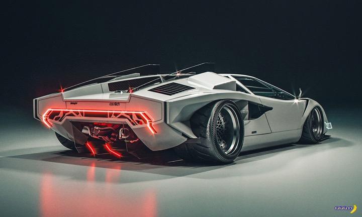 Концепт Lamborghini Countach E.V.E.