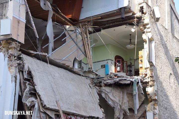 В Одессе обрушился жилой дом