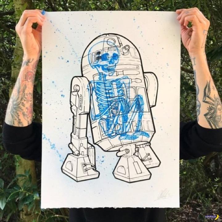Искусство и скелеты