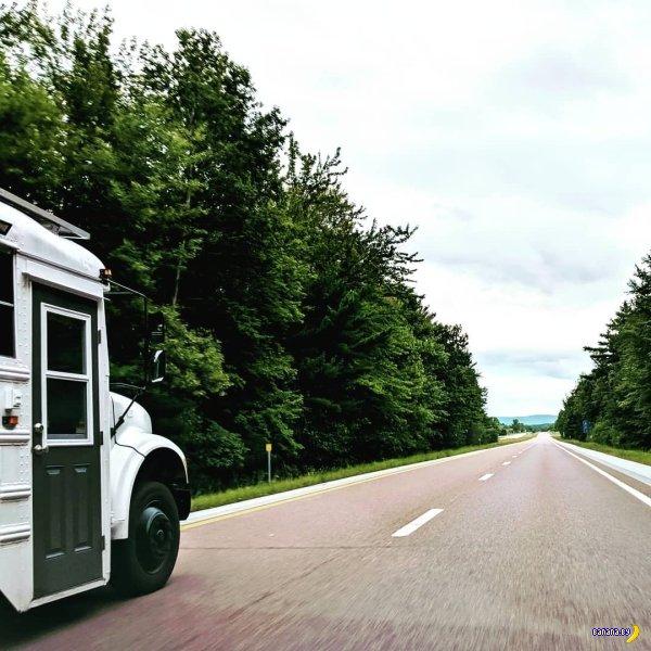 Ещё один школьный автобус стал домом на колесах