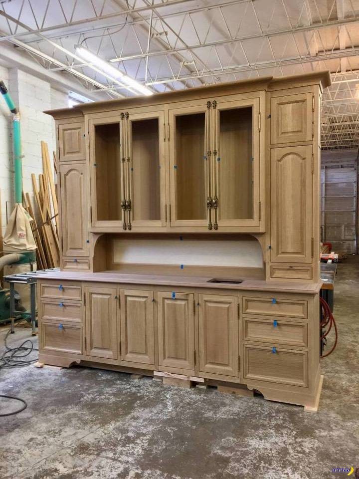 В моде woodworking!