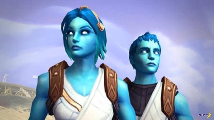 В World of Warcraft появится персонаж-транс!