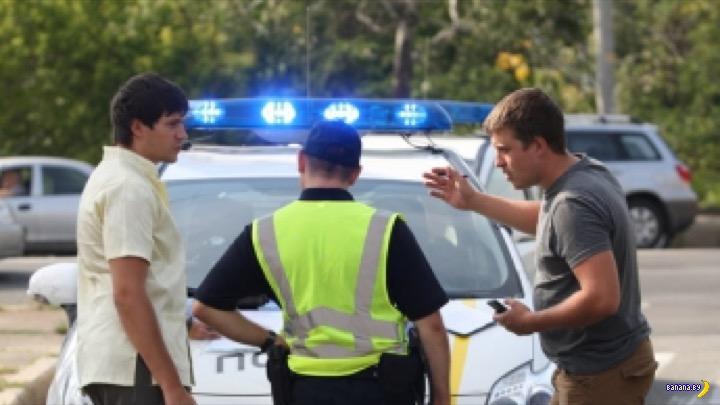 В Украине предложили стучать на нарушителей ПДД