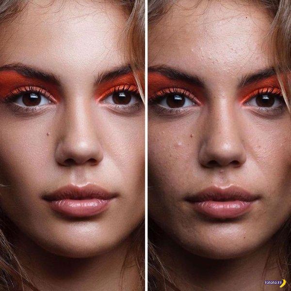 Разоблачение фальшивых красоток в Инсте