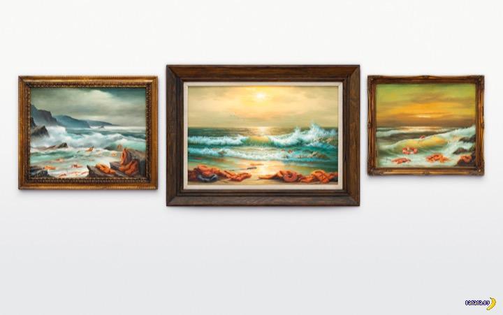Триптих Бэнкси продали за $2,9 млн