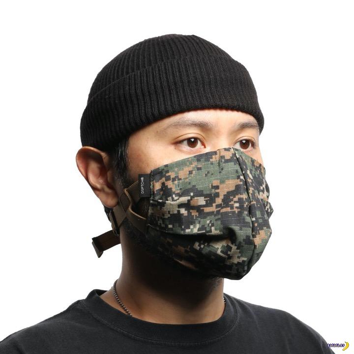 А вот и тактическая маска!