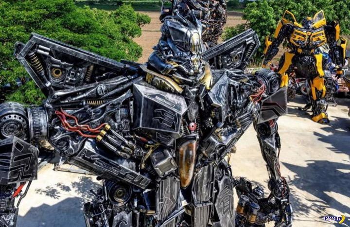 Музей фигур из железного мусора