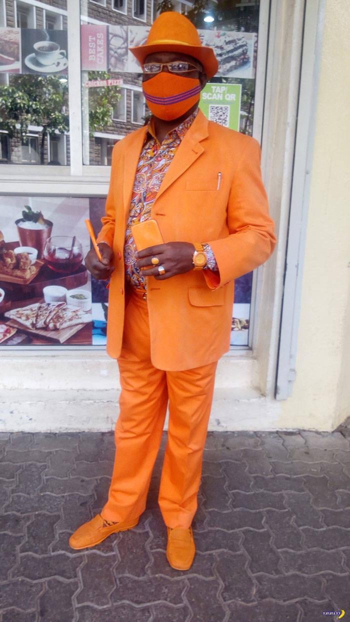 Самый стильный негр в Африке