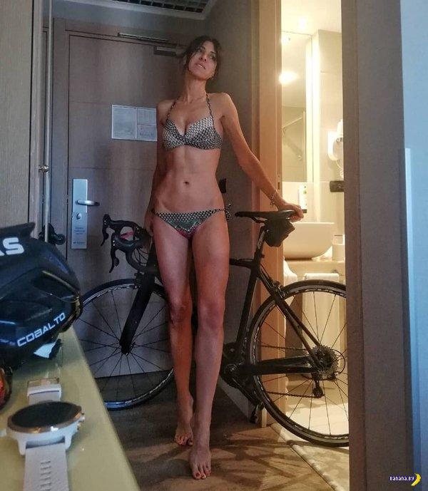 Велосипед для попы хорошо!