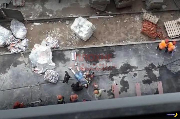 Трагедия на стройке в Московской области