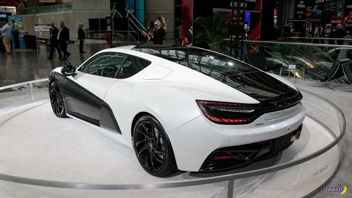Роскошный китайский электромобиль