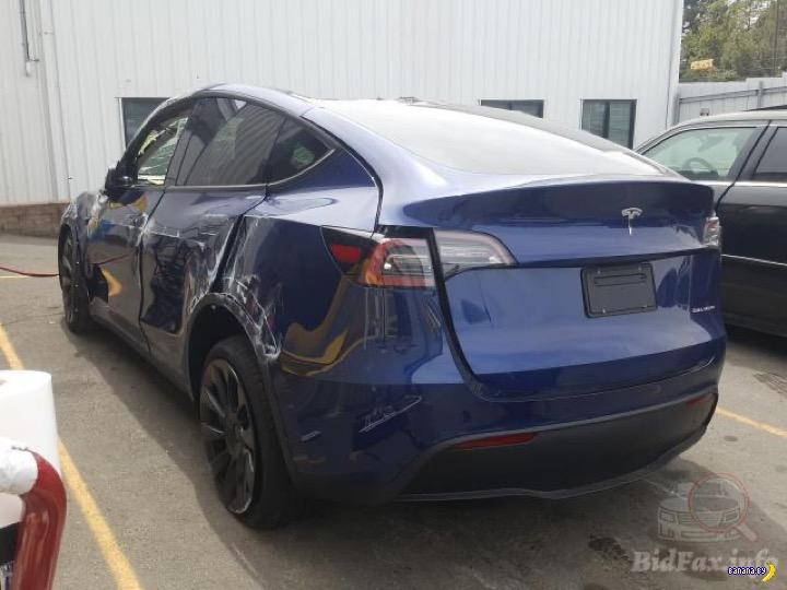 Вложение в разбитую Tesla Model Y