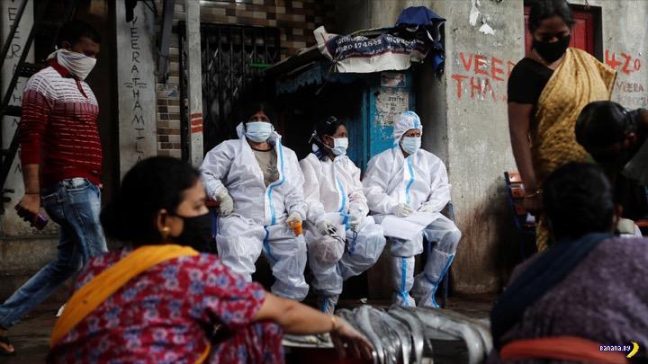 Индия рвётся в лидеры по коронавирусу