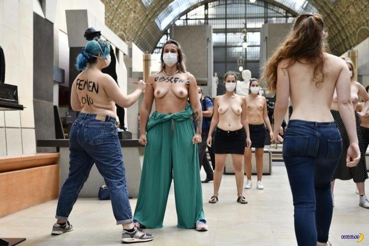 FEMEN снова бунтуют в Париже