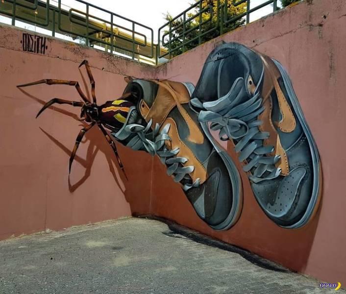 Стрит-арт от Sergio Odeith