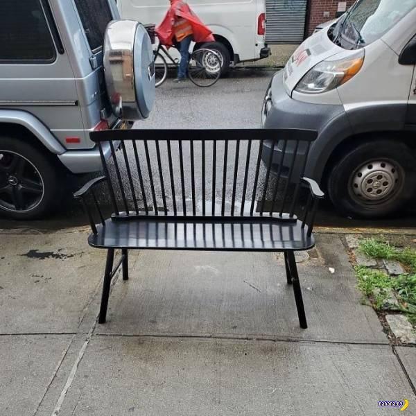 Как в США избавляются от мебели