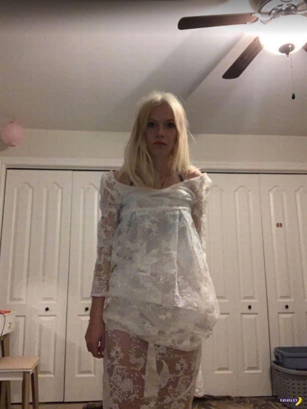 Только дурочка будет покупать свадебное платье онлайн!