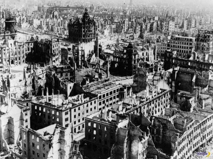 Для чего союзники разбомбили Дрезден?