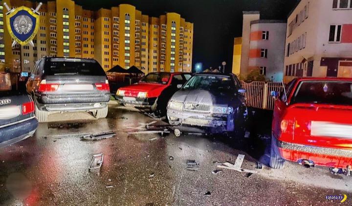 В Гродно партизаны взорвали машину милиционера