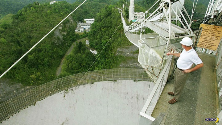 Легендарная обсерватория Аресибо будет снесена