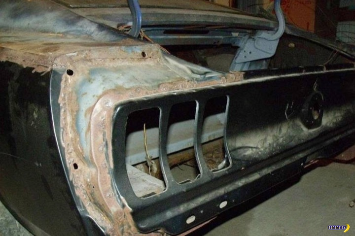 Восстановление 1969 Mustang Mach 1