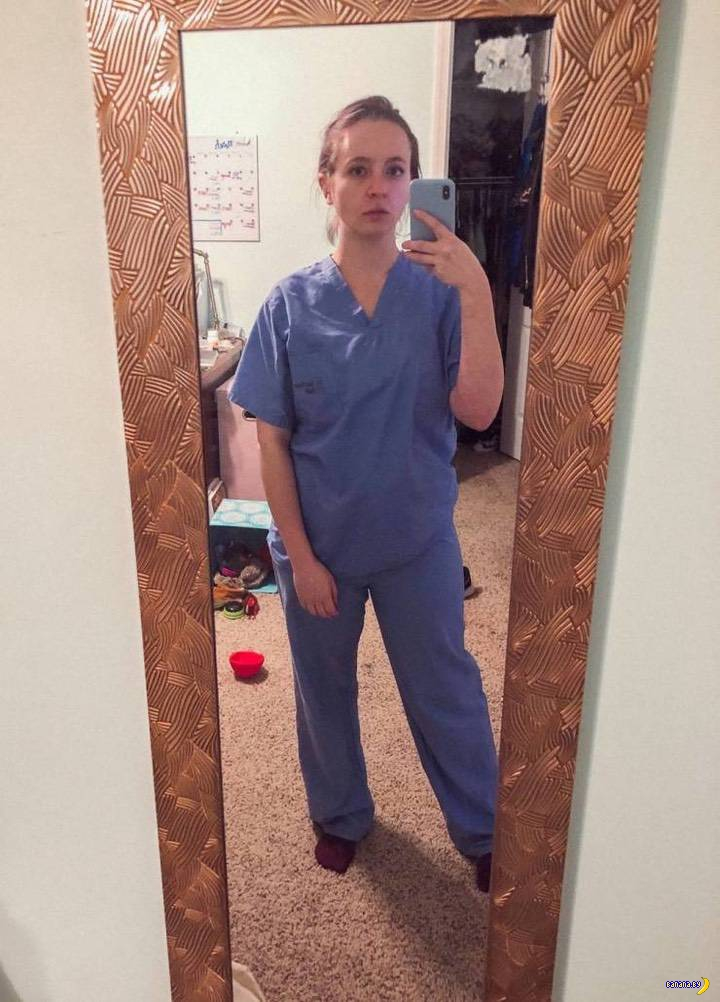 Медсестра и 9 месяцев в красной зоне