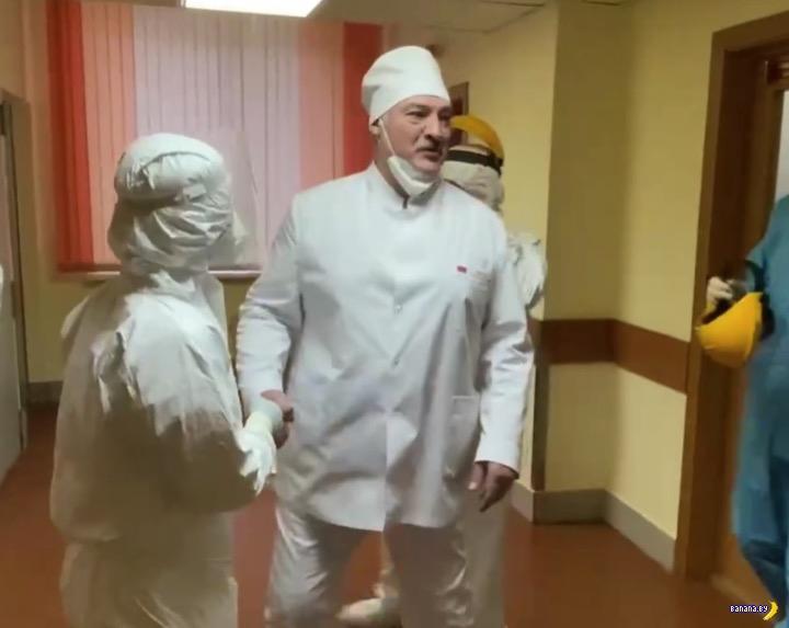 Лукашенко про собственную вакцину