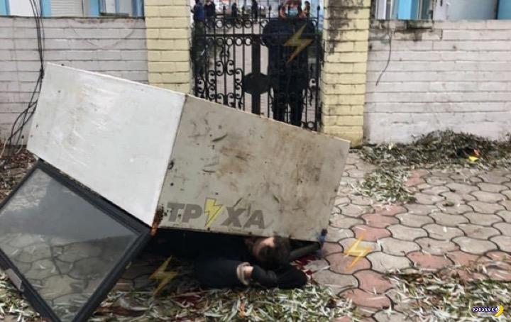 Нелепая смерть вора в Харькове
