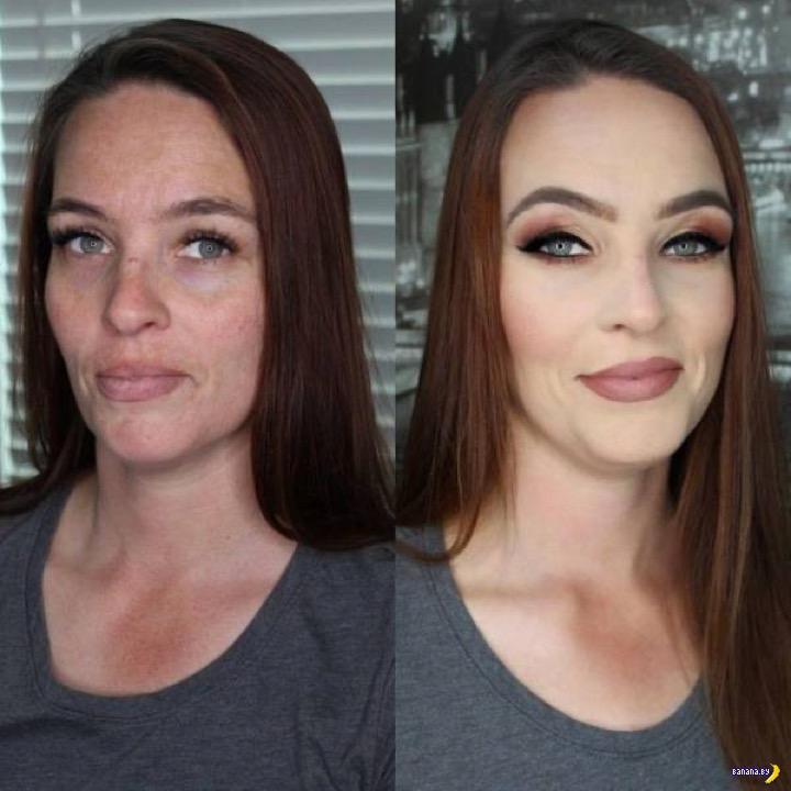 Волшебная сила макияжа