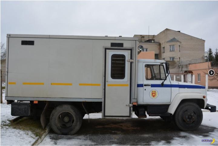 Распродажа автозаков в Жодино
