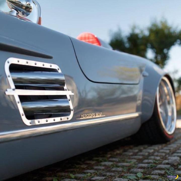 Кастомный Mercedes 300SL