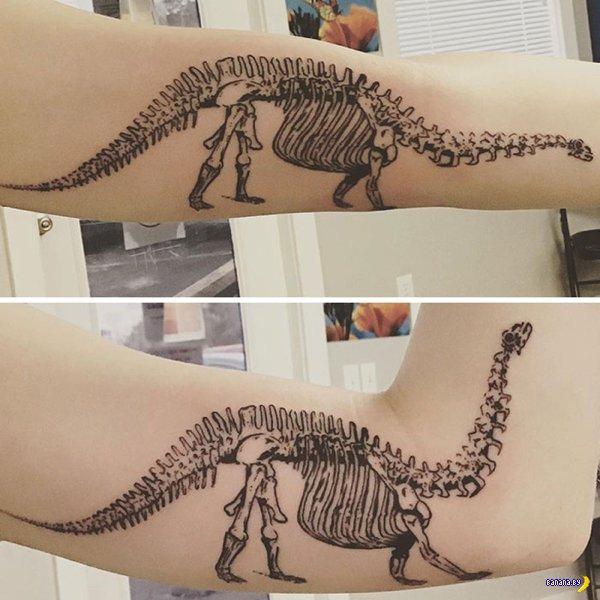 Подвижные татуировки