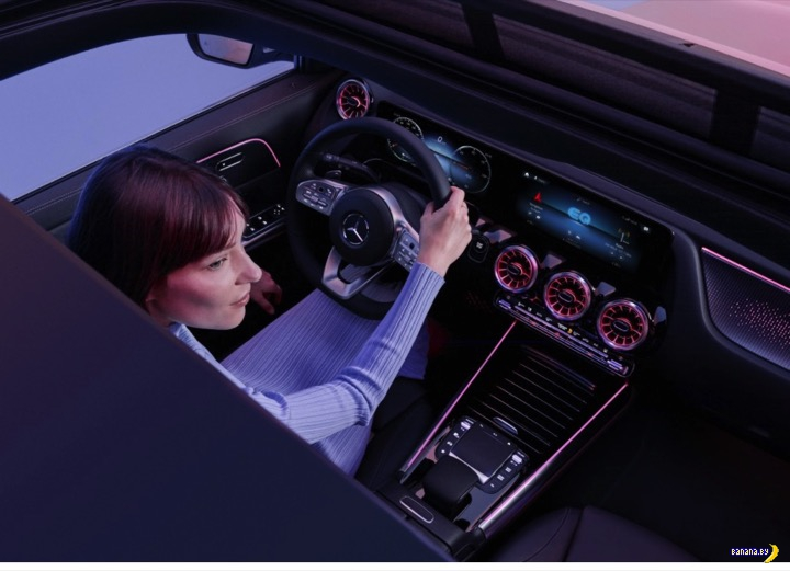 А как вам Mercedes-Benz EQA?