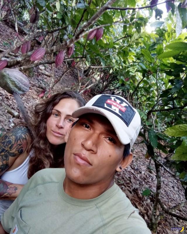С милым рай в шалаше в Амазонии