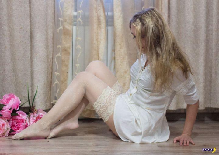 Улов из социальных сетей - 458 - Белые чулки!