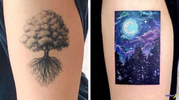 Татуировки на зависть - 137 - Перекрытие!