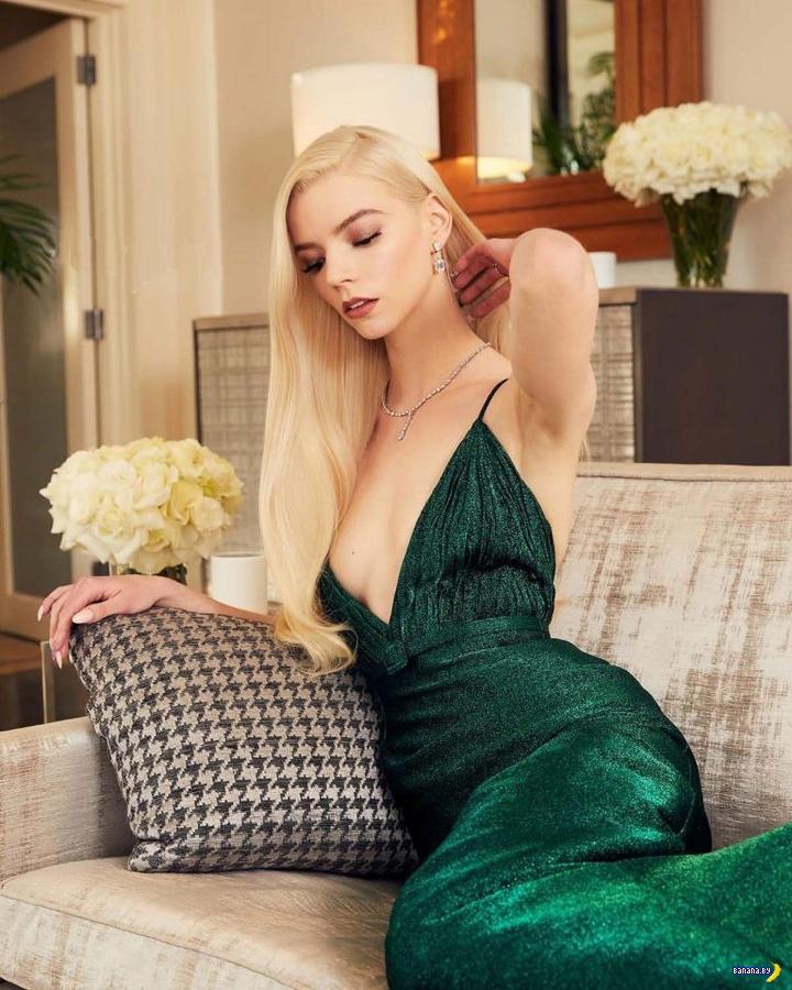 Аня Тейлор-Джой и её Золотые Глобусы