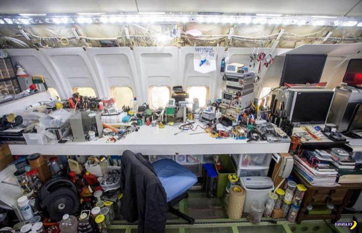 Дед и его Боинг 727-400