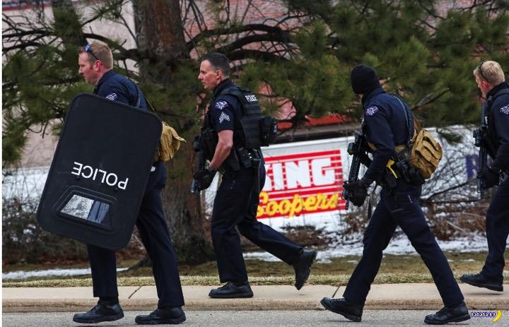 Бойня в Колорадо: 10 человек убито в супермаркете