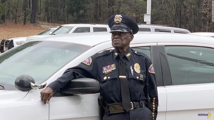 91-летний коп всё ещё на службе
