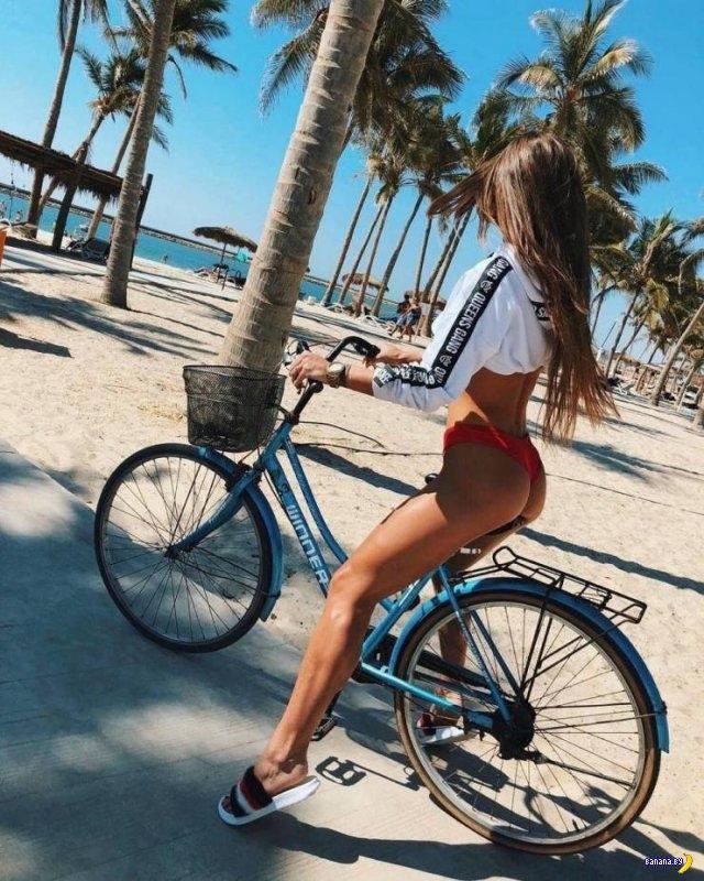 Сексуальные велосипедистки - 3