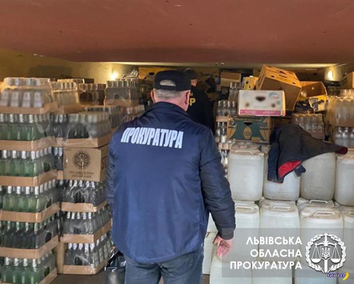 Подпольный завод по производству водки