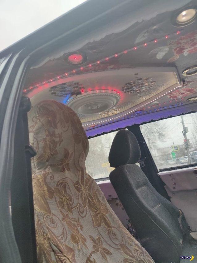 Невероятная роскошь в такси