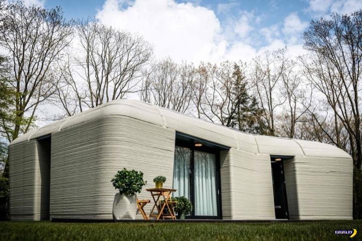 Первый напечатанный дом в Европе