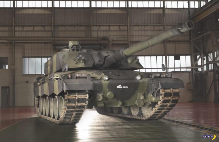 Великобритания передумала отказываться от танков