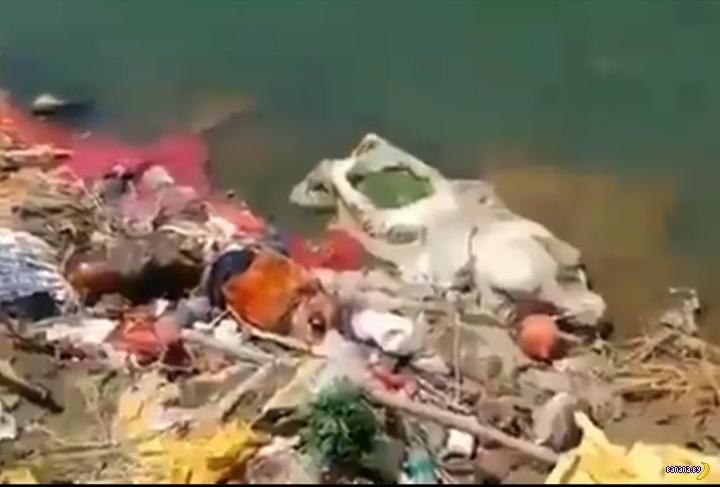 В Индии новая жесть –трупы в Ганге